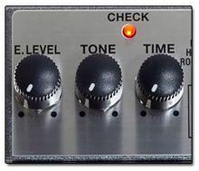 Controles Estándar en los Pedales Reverb para Guitarra Eléctrica
