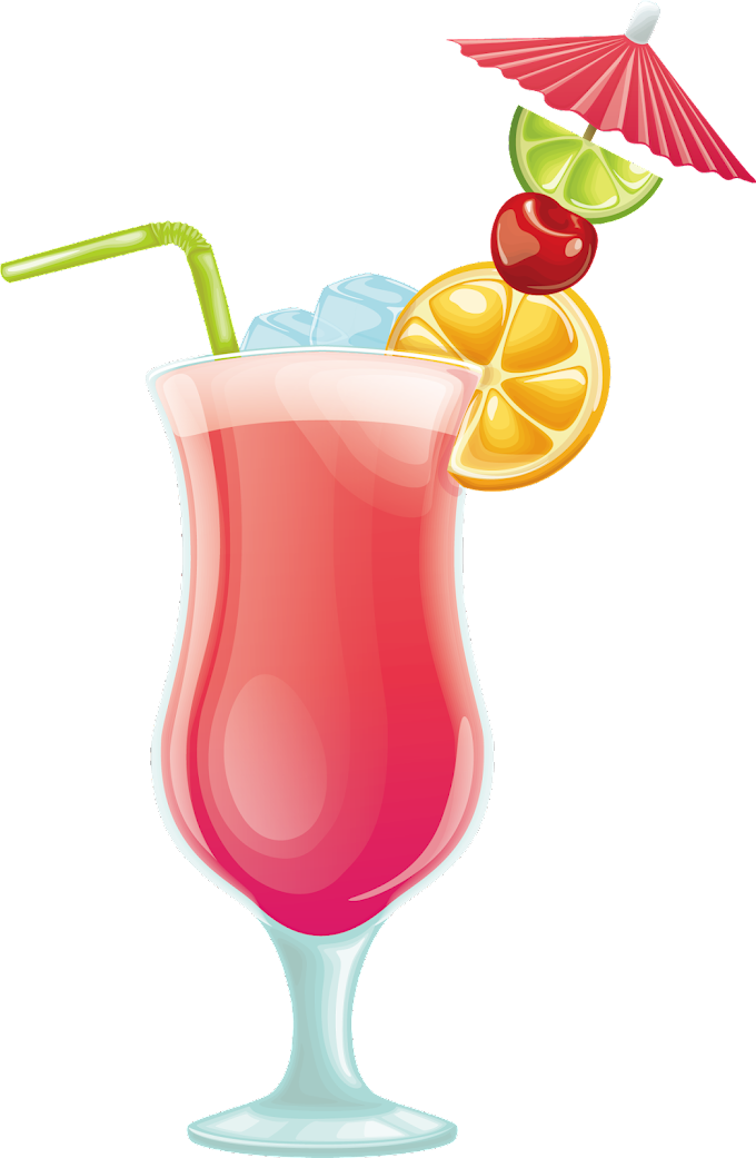 Pink and multicolored fruit beverage art, Cocktail Juice Drink, Pink drink, glass, food png free png