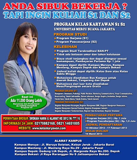 Kelas Karyawan di Tangerang dan Bekasi