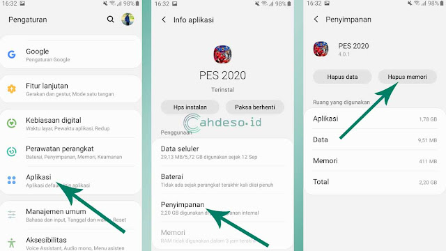 Cara Mengatasi Force Close e-Football PES 2020 Mobile