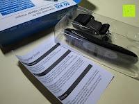 Lieferumfang: E-PRANCE® Kofferwaage Gepäckwaage Digitale Waage für Reise/Koffer bis 50KG Kapazität