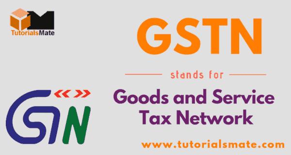 GSTN Full Form
