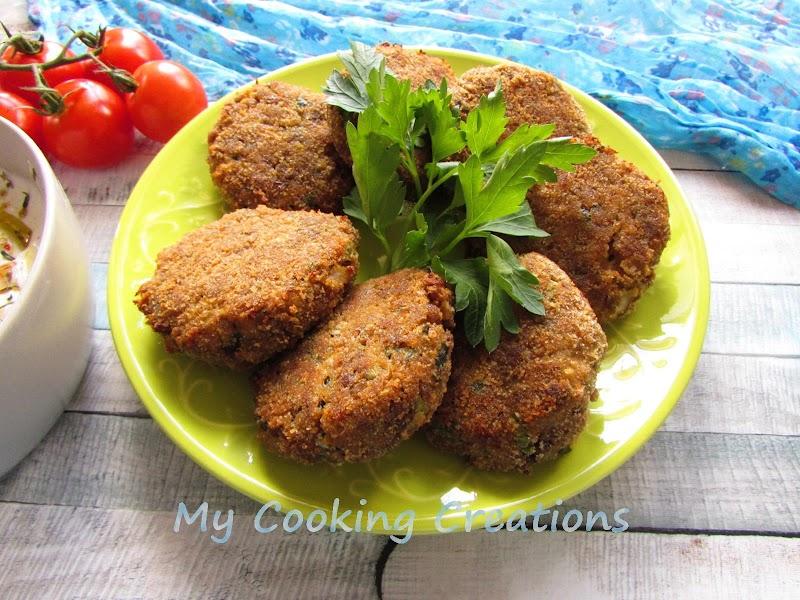 Кюфтета от леща и телешка кайма по турски * Polpette di lenticchie e carne
