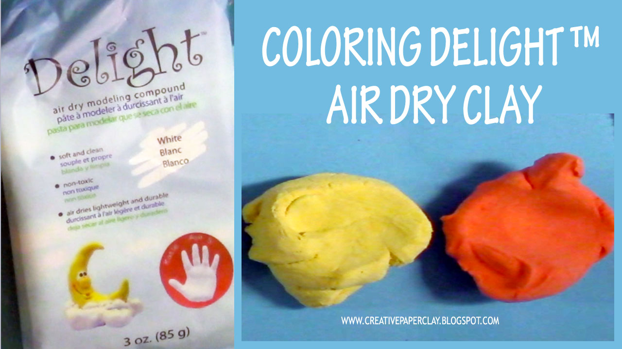 Creative Paperclay® air dry modeling material: Tip of the Month ...
