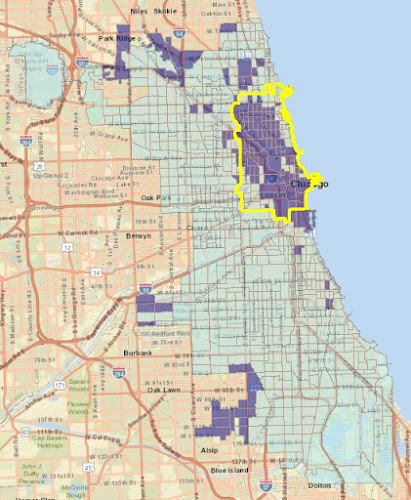 Chicago Data Guy: Chicago tract shapefile with ACS data