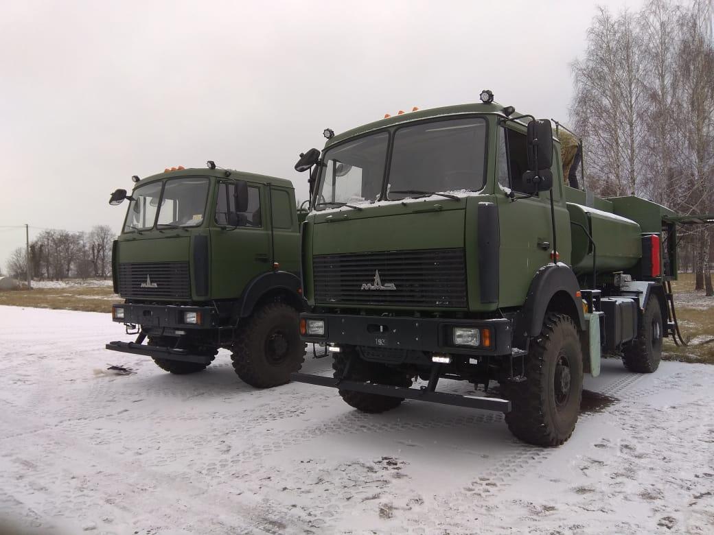 Спец-Ком-Сервіс поставив ДПСУ два МАЗи-паливозаправники для вертольотів Airbus Н125
