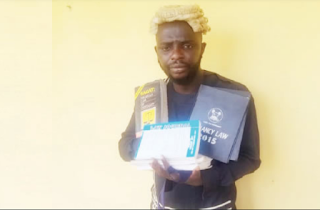 Police nabbed fake lawyer after collecting N300,000 from client in Ogun