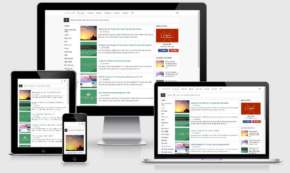 Sparks Redesign Blogger Template