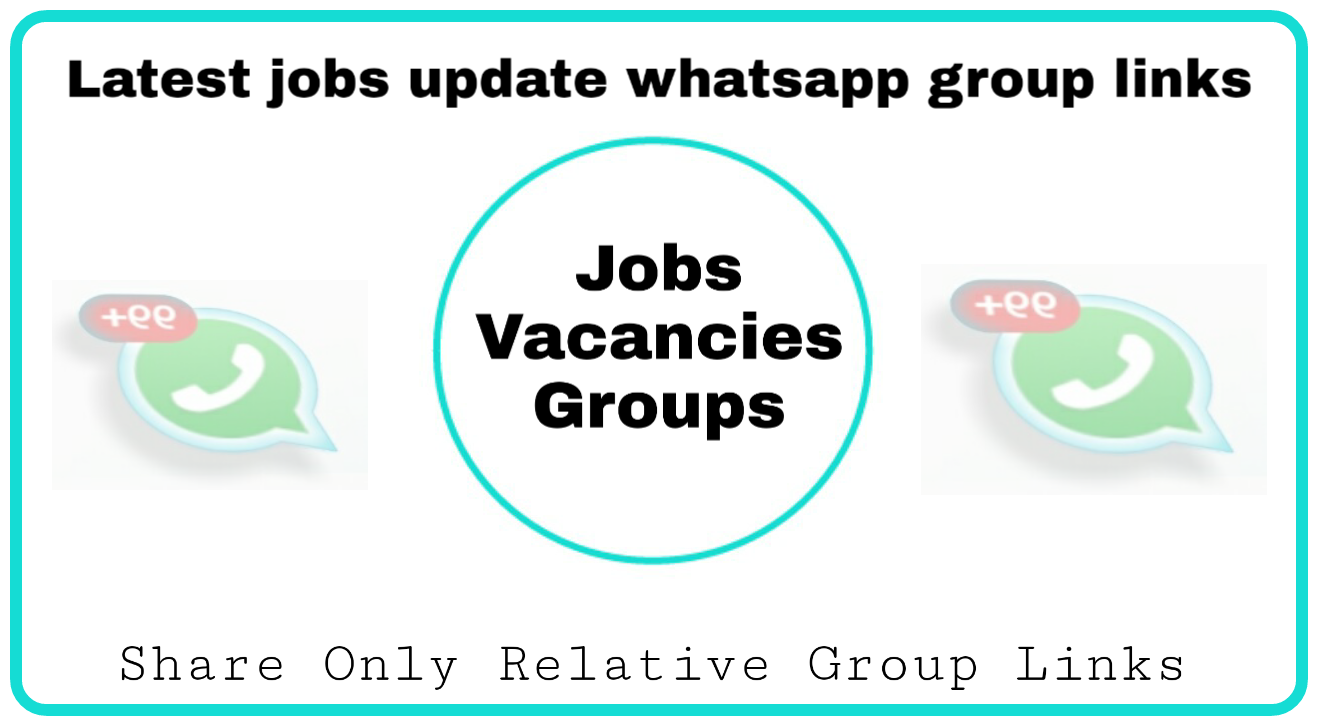 Job seekers join this whatsapp group link - Group Links
