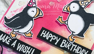 Stampin up party puffins