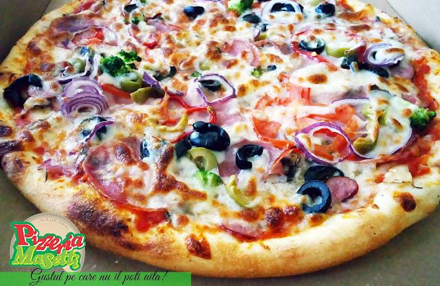 Pizza Masetti alegerea naturală!