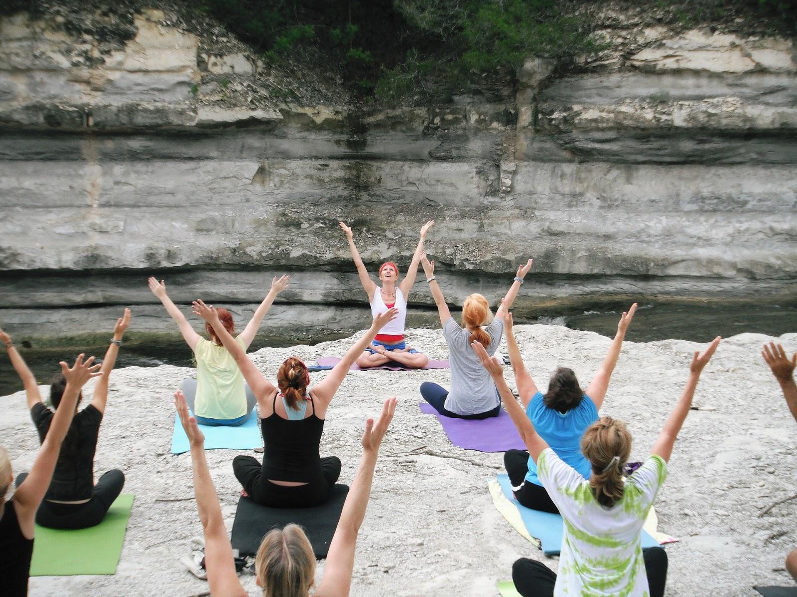 yoga, internacional, día, especial.