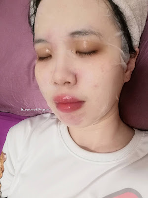 SHANGPREE Aroma Blend Calming Mask + First Impression
