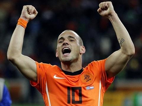 Sneijder là một màu mới cho Nice