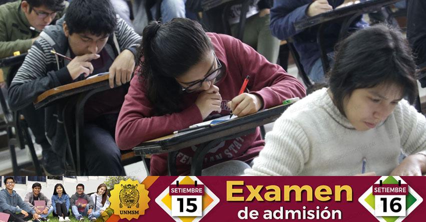 UNMSM: Más de 22 mil postulantes rendirán Examen de Admisión a San Marcos este Sábado 15 y Domingo 16 (RESULTADOS) www.unmsm.edu.pe
