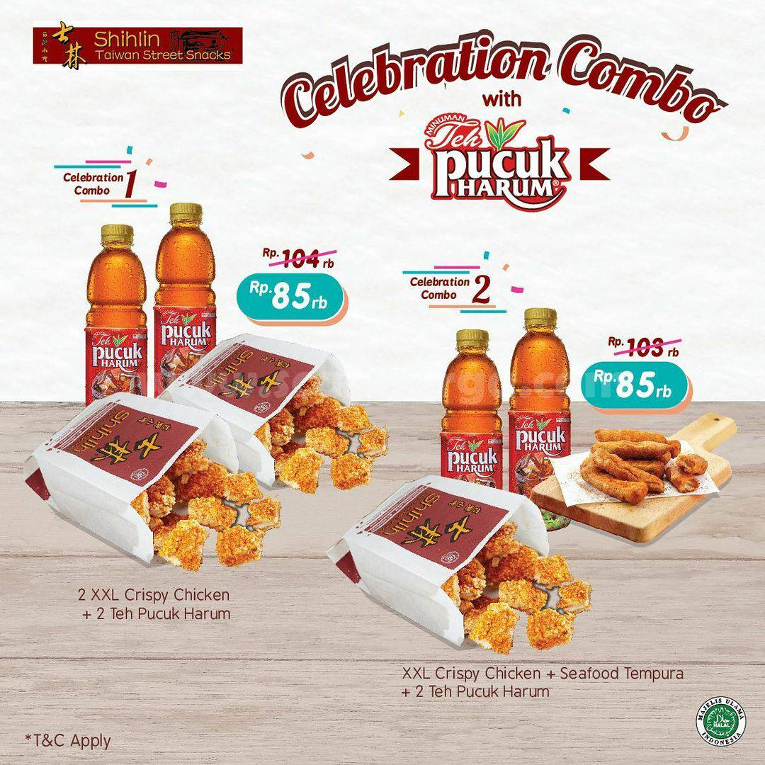 Shihlin Promo Celebration Combo With Pucuk Harum – Special Price Only IDR 85.000