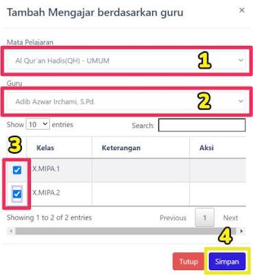 Panduan Lengkap Setting Rapor Digital Madrasah (RDM) - Fitur Login Admin