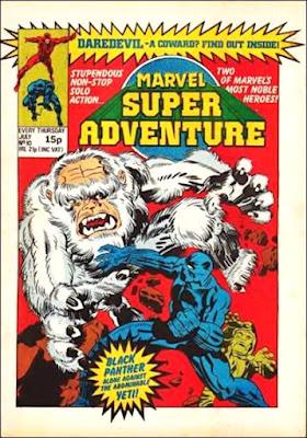 Marvel Super Adventure #10, the Black Panther