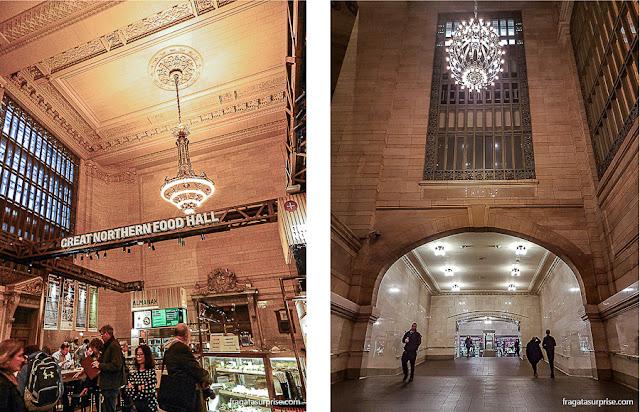 The Great Northern Food Hall, mercado gastronômico na Grand Central Station de Nova York