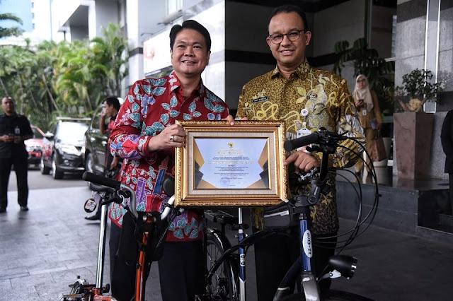 Pemprov DKI Kembali Berhasil Raih Penghargaan IPK dari Kementerian Ketenagakerjaan RI