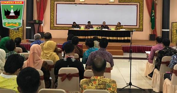 Gubernur Irwan Pimpin Rapat Terkait Tindak Lanjut Usulan Daerah