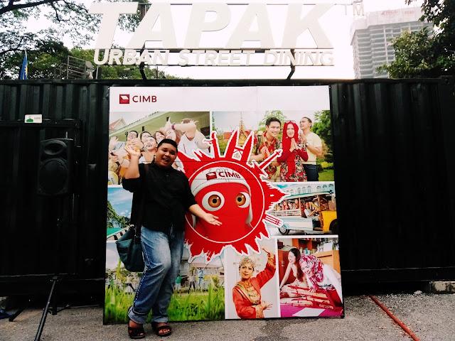 Raya Bersama CIMB & Hassan Burger Roti John