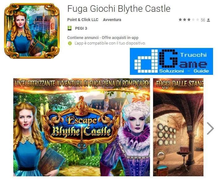 Soluzioni Fuga Giochi Blythe Castle di tutti i livelli | Walkthrough guide