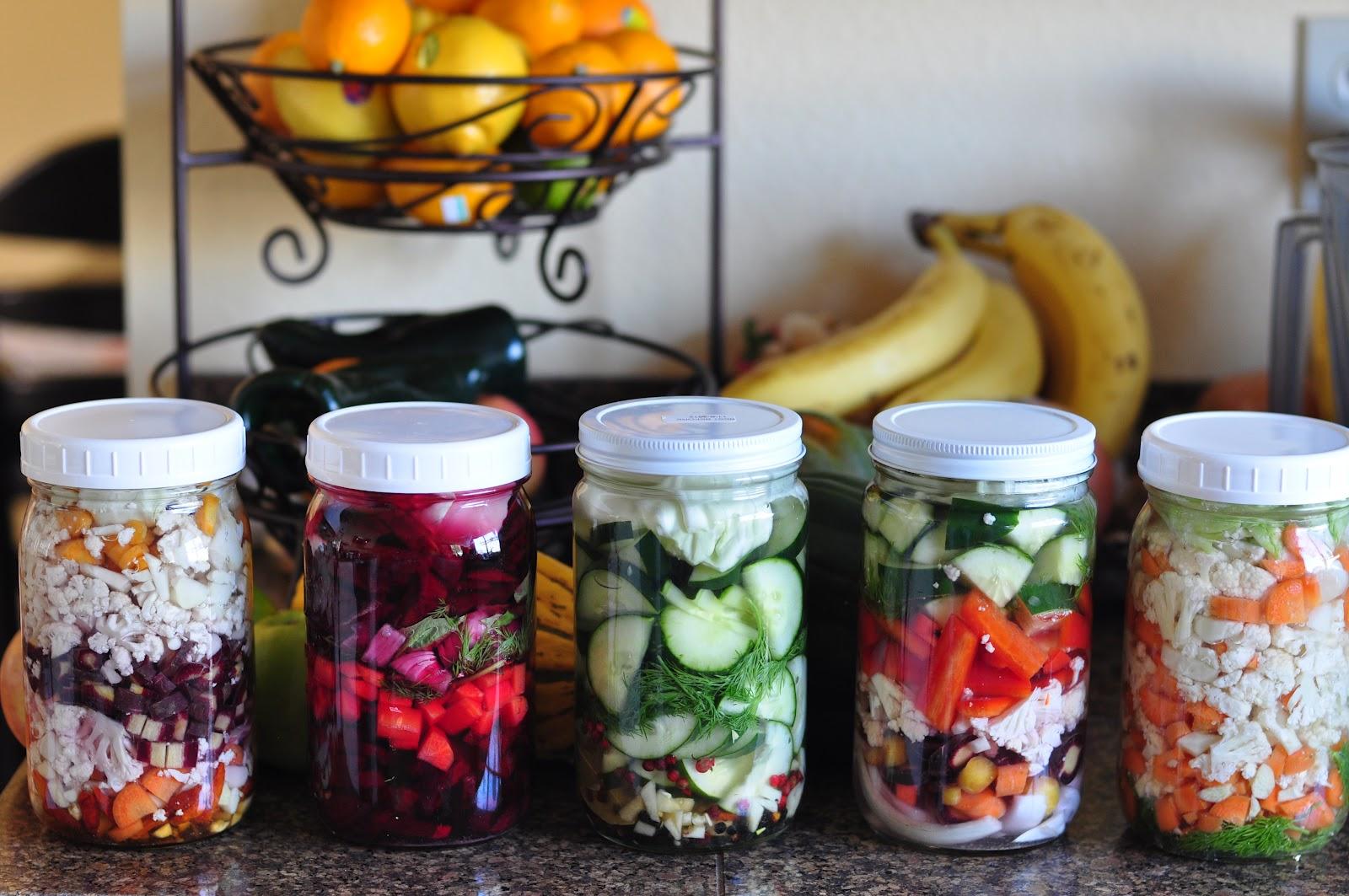 Is vinegar a fermented food