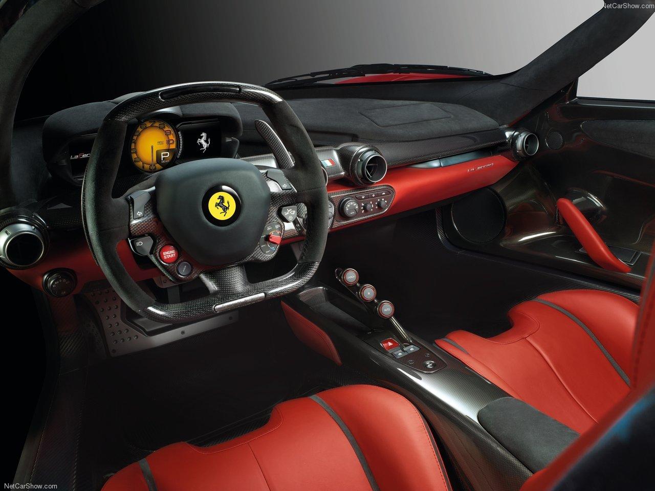 Ferrari-LaFerrari-2014- Interior-Sports Cars
