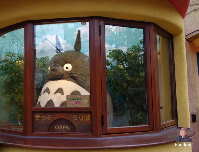 Totoro di Loket Ghibli Museum