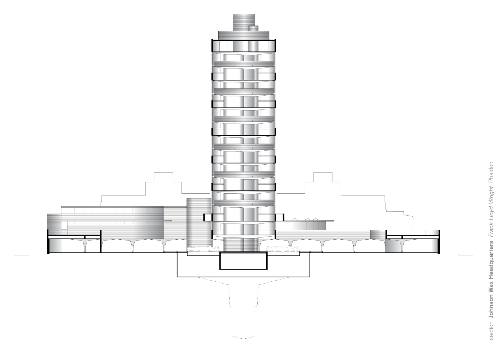The gallery for --> Johnson Wax Building Column