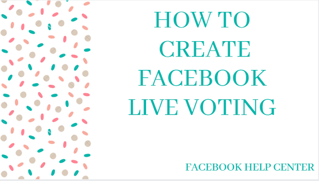 Create live voting