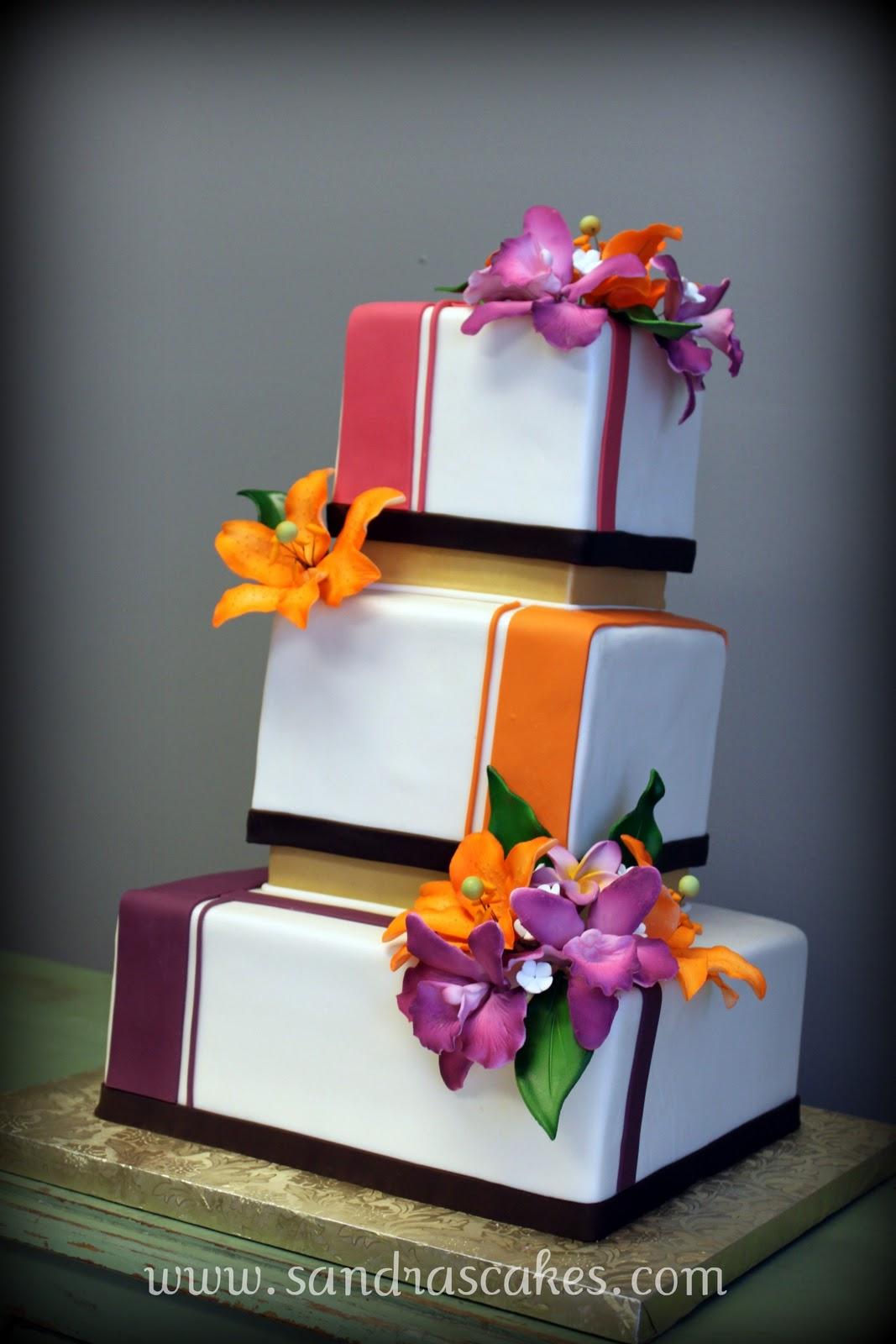 On Birthday Cakes Exquisite Wedding Cakes