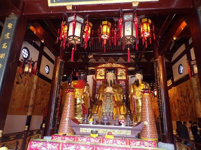 templo de la ciudad shanghai