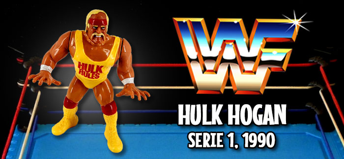 Figura Pressing Catch: Hulk Hogan (Hasbro, 1990)