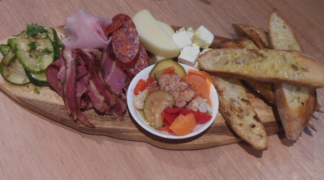 Hunters & Disciples, West Melbourne, charcuterie board