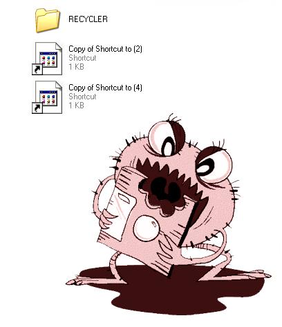 التخلص من أشهر فيروسات الويندوز (shortcut virus)