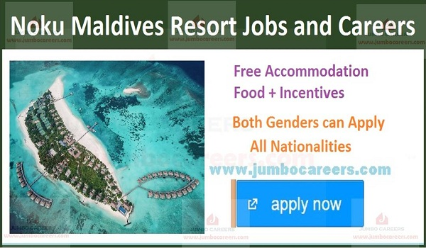 Jobs in Maldives with salary, Jobs with benefits in Maldives,