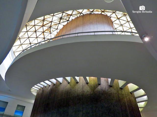 Vista do Átrio do Conjunto Nacional - Cerqueira César - São Paulo