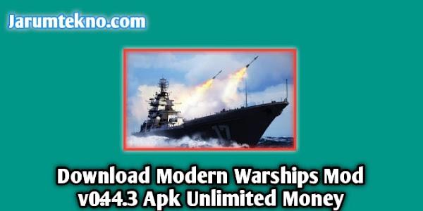 Download Modern Warships Mod v0.44.3 Apk Unlimited Money
