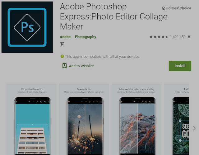 5+ Aplikasi Editor Foto (Gratis & Berbayar) Untuk Android  4