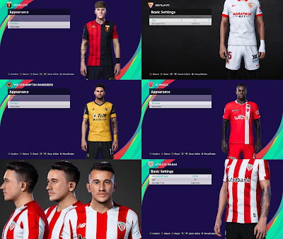 PES 2021 Faces & TattooPack by SR