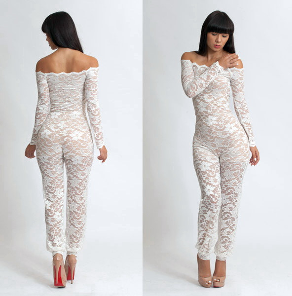 1f65a64951fc Voguish lace for women. Voguish lace for women. to this chic collection of women s  voguish lace jumpsuits ...
