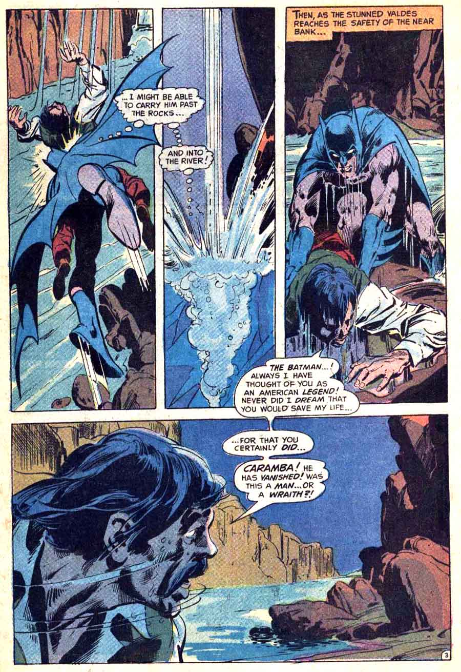 Detective Comics #395 dc Batman comic book page art by Neal Adams