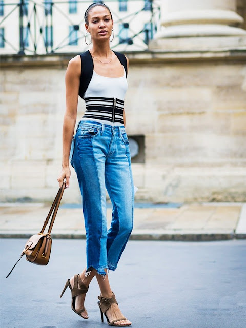 Trend alert - Two toned jeans