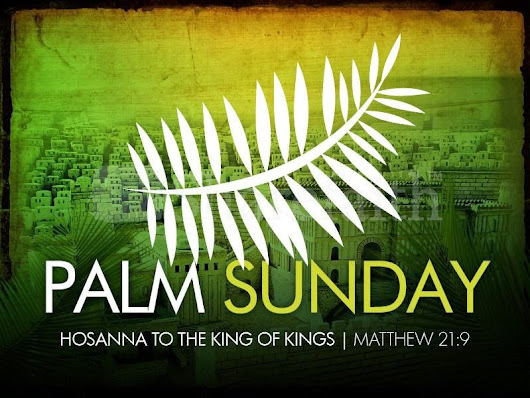 Happy Palm Sunday 2015 SMS, Messages, Wishes and greetings