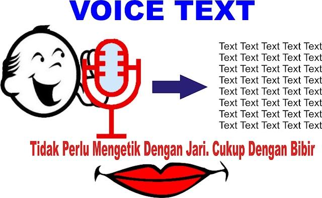 Males/Mengetik Manual, Gunakan Voice Text Indonesia