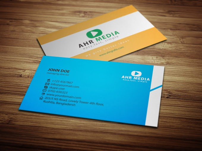 Professional Business Card Design    visiting card    creative business cards