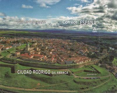 sello, filatelia, Ciudad Rodrigo
