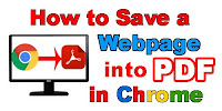 How to Save a Web Page to PDF in Google Chrome?
